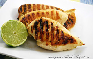 Grilled Chicken in a Lime Frost Sea Salt Brine