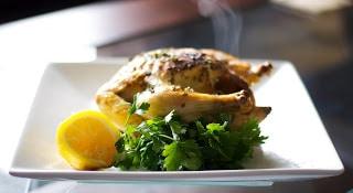 Lemon Roasted Cornish Hens