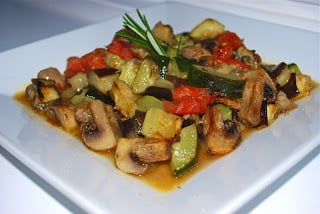 Roasted Vegetable Ratatouille horizontal