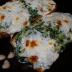Spinach Artichoke French Bread Pizza