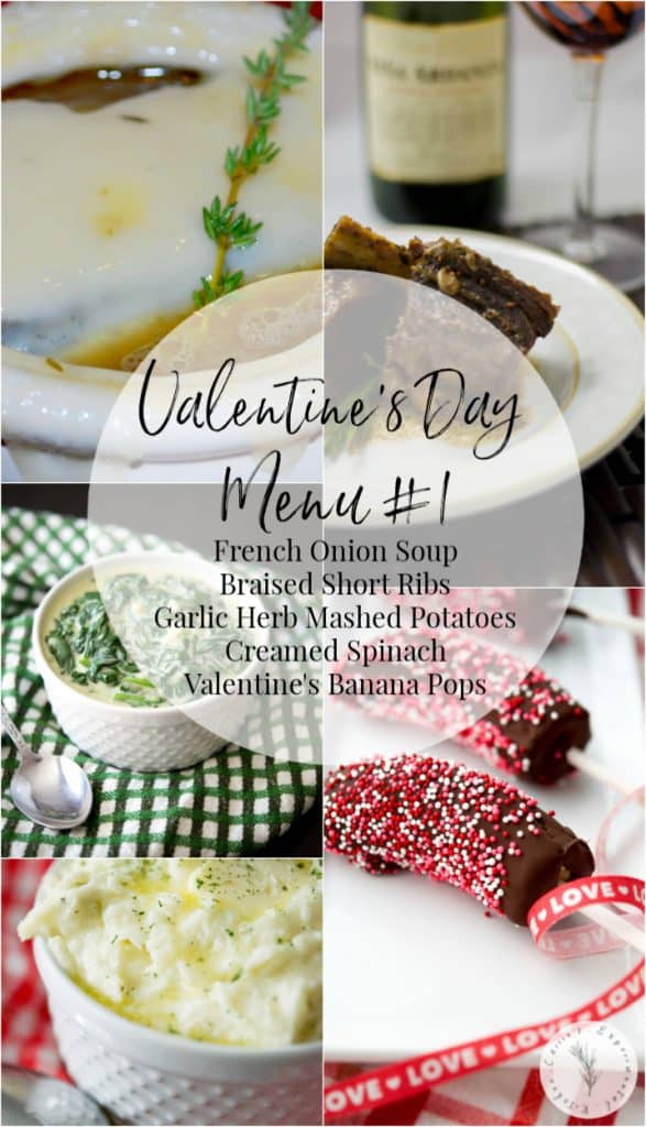 Valentine's Day Menu #1: Make that special someone a homecooked meal to show how much you care. Here are 5 Sample Valentine's Day Menu Ideas to give you some inspiration.