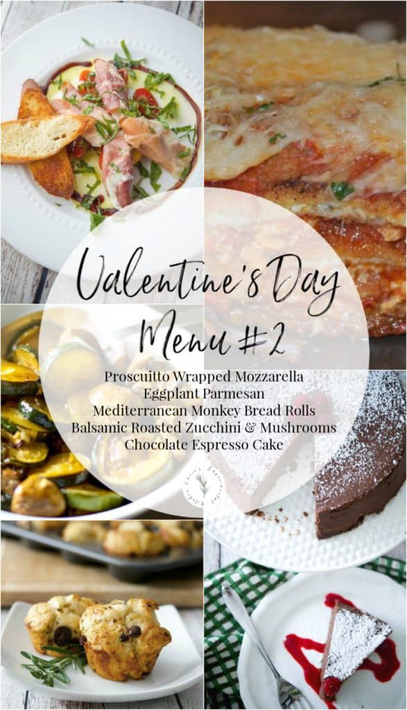 Valentine's Day Menu #2: Make that special someone a homecooked meal to show how much you care. Here are 5 Sample Valentine's Day Menu Ideas to give you some inspiration.