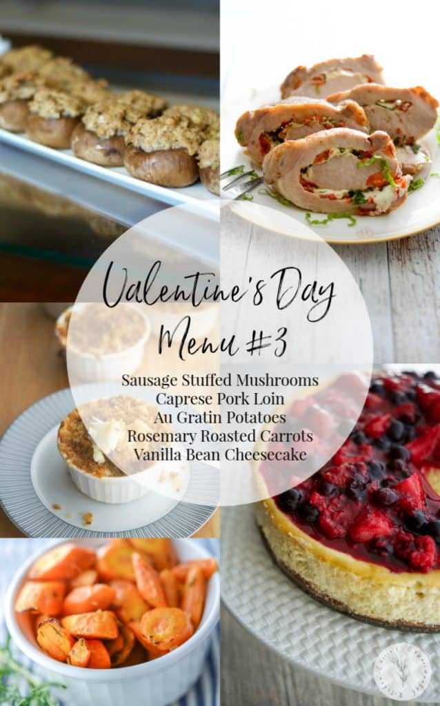 Valentine's Day Menu #3: Make that special someone a homecooked meal to show how much you care. Here are 5 Sample Valentine's Day Menu Ideas to give you some inspiration.