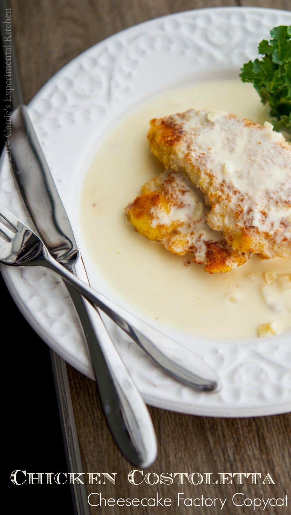 Copycat recipes cheesecake factory chicken costoletta