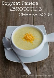 Copycat Panera Broccoli & Cheese Soup | Carrie's Experimental Kitchen #soup