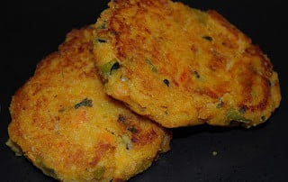 Jalapeno & Sweet Potato Fritters