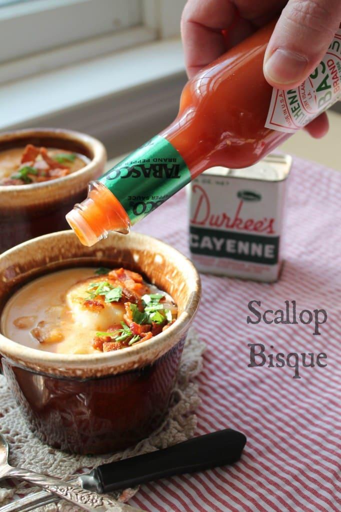 Scallop Bisque