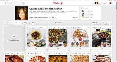 Carrie's Experimental Kitchen on Pinterest