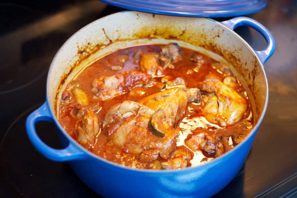 Chicken, Portobello Mushrooms and Zucchini