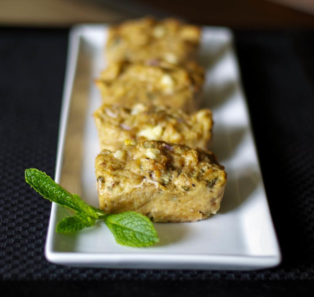 Feta & Sage Mini Chicken Meatloaf
