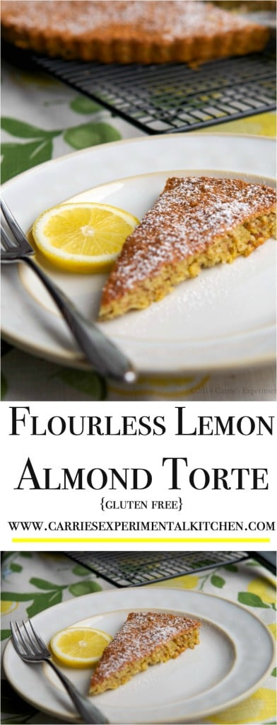 Light, lemony and gluten free, this Flourless Lemon Almond Torte is special enough for your holiday dessert table, yet simple enough for a weeknight snack.