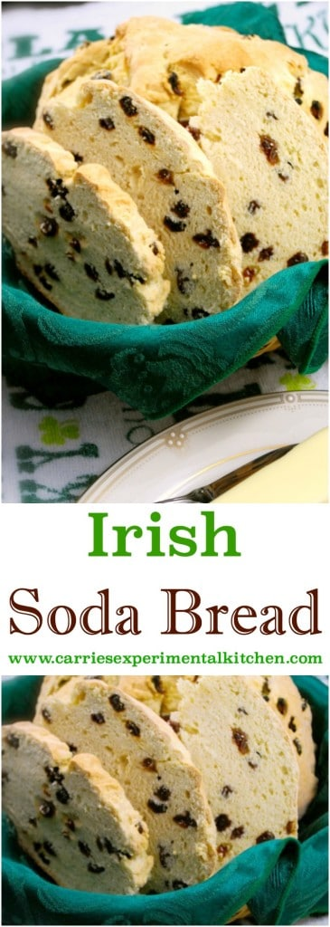 This Irish Soda Bread is moist and delicious. Make it all year long, not just St. Patrick's Day!