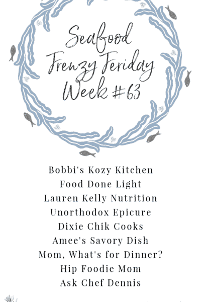 Seafood Frenzy Friday Week #63