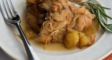 Chipotle Apple Braised Chicken