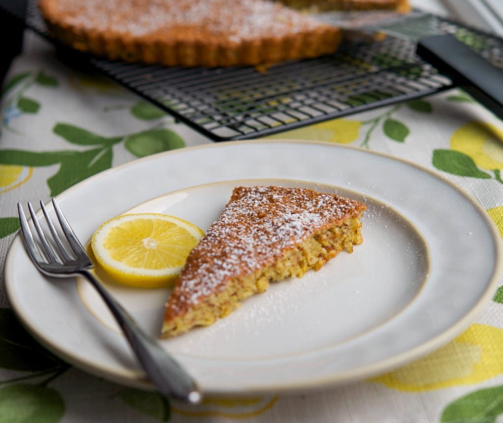 Flourless Lemon and Almond Torte
