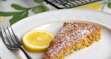 Flourless Lemon Almond Torte