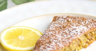 Flourless Lemon Almond Torte