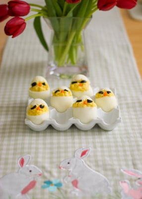 Chick Deviled Eggs