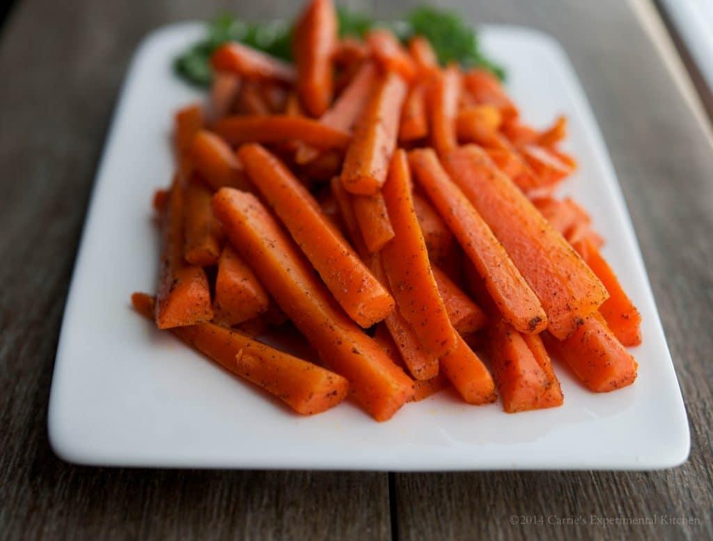 Cinnamon Carrot Sticks