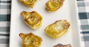 Fried Artichoke Hearts with Rosemary-Garlic Aioli