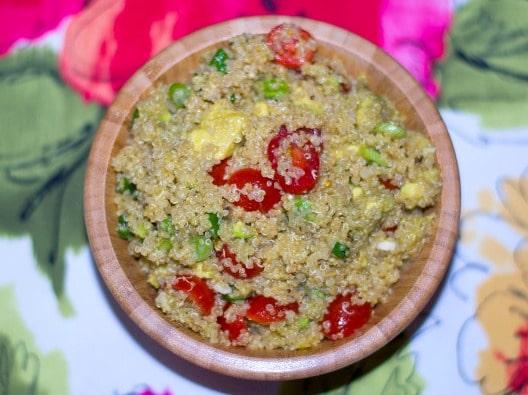 Avocado Quinoa Salad