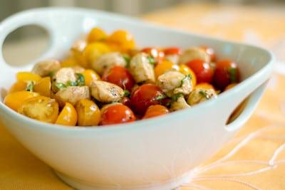 Ciliegine Tomato & Mozzarella Salad-2