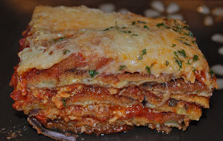 Eggplant Parmesan with Marinara Sauce