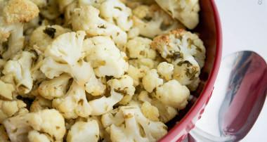 Gremolata Roasted Cauliflower