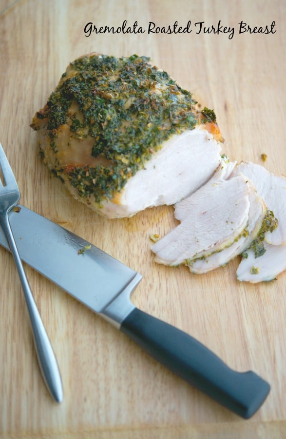 With meals like this Gremolata Roasted Turkey Breast made with fresh parsley, lemon and garlic; you can transform any roast into a family favorite.