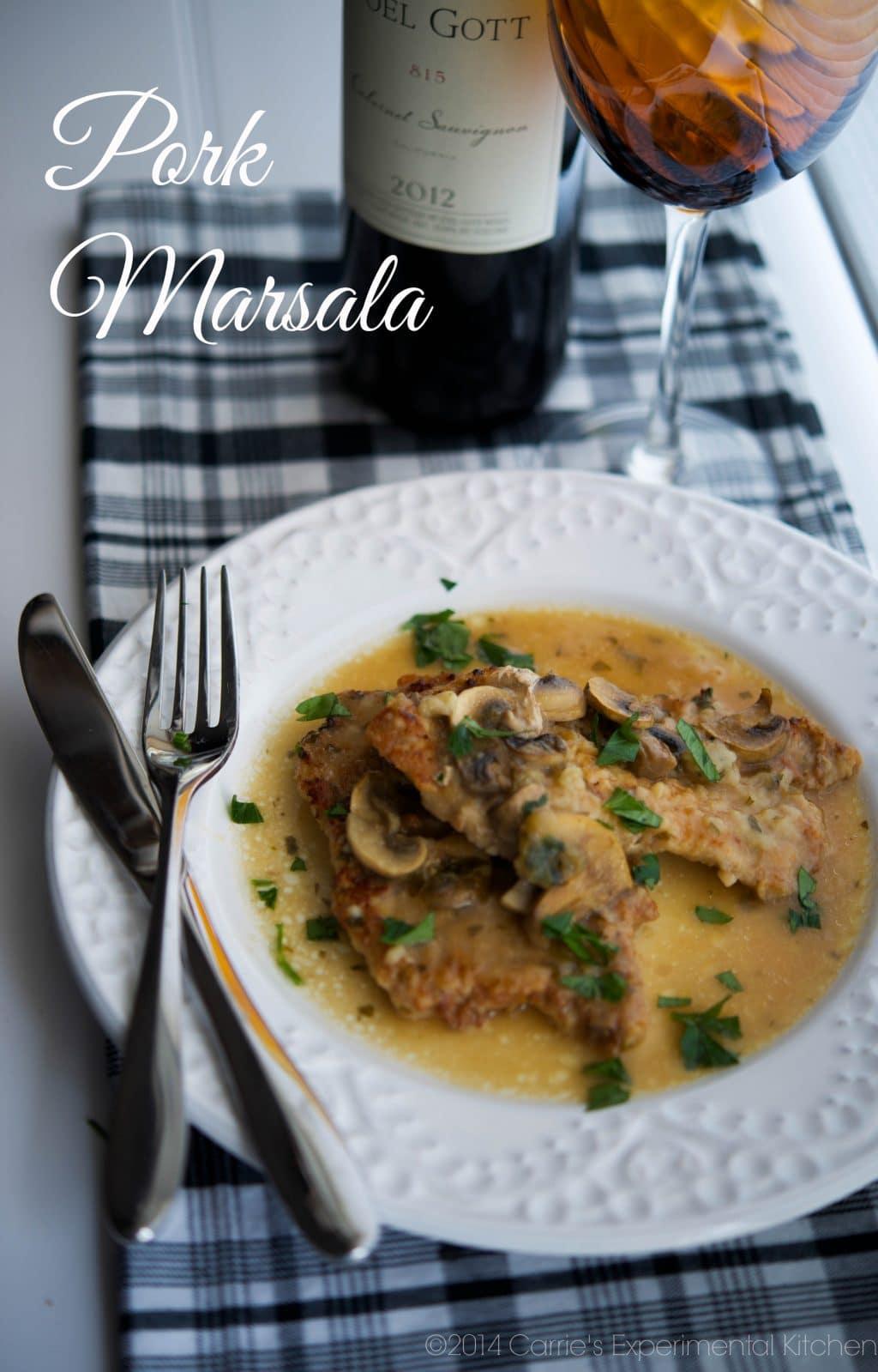 Food network pork marsala recipes