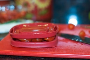 grape tomatoes with lid