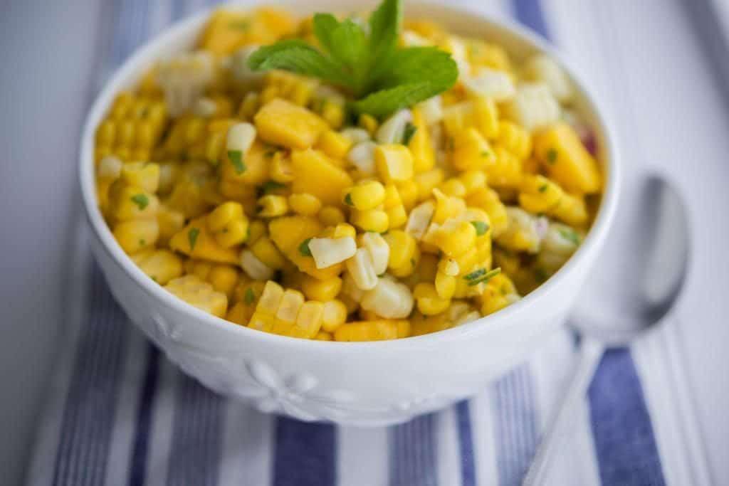 Tropical Corn Salad