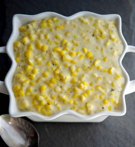 Garlic & Herb Creamed Corn