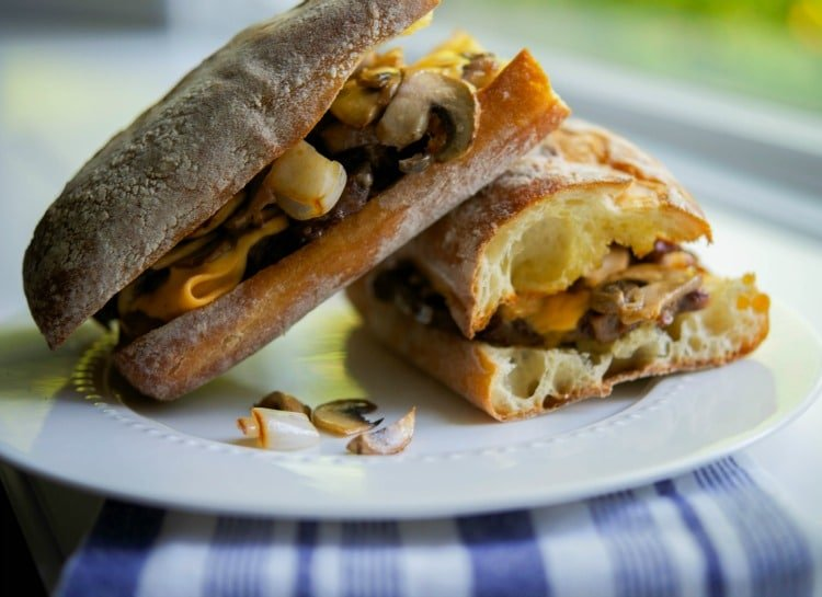 Rib Eye Steak Sandwich