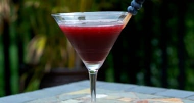 Coconut Berry Martini