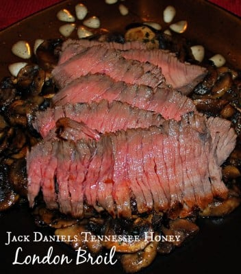 ack Daniels Tennessee Honey London Broil | Carrie's Experimental Kitchen #beef #jackdaniels