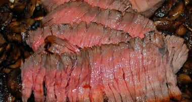 Jack Daniels Tennessee Honey Marinated London Broil