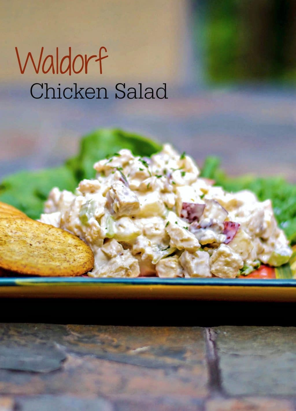 Waldorf Chicken Salad - Carrie's Experimental Kitchen