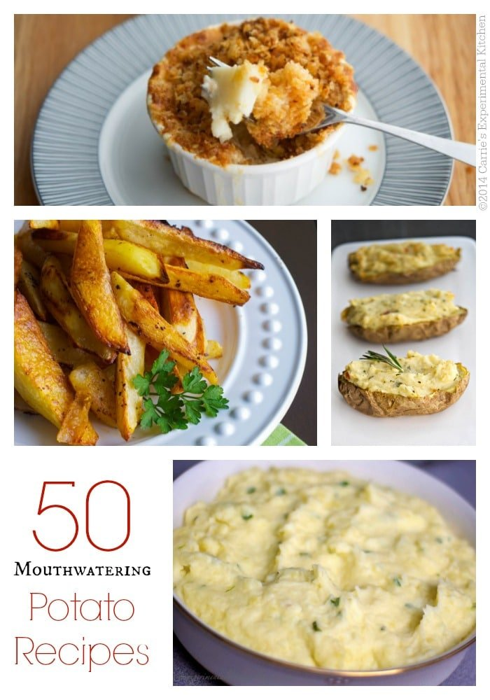 Po-tay-to? Po-tot-o? However you pronounce it, here are 50 Mouthwatering Potato Recipes that will be sure to please every palate!