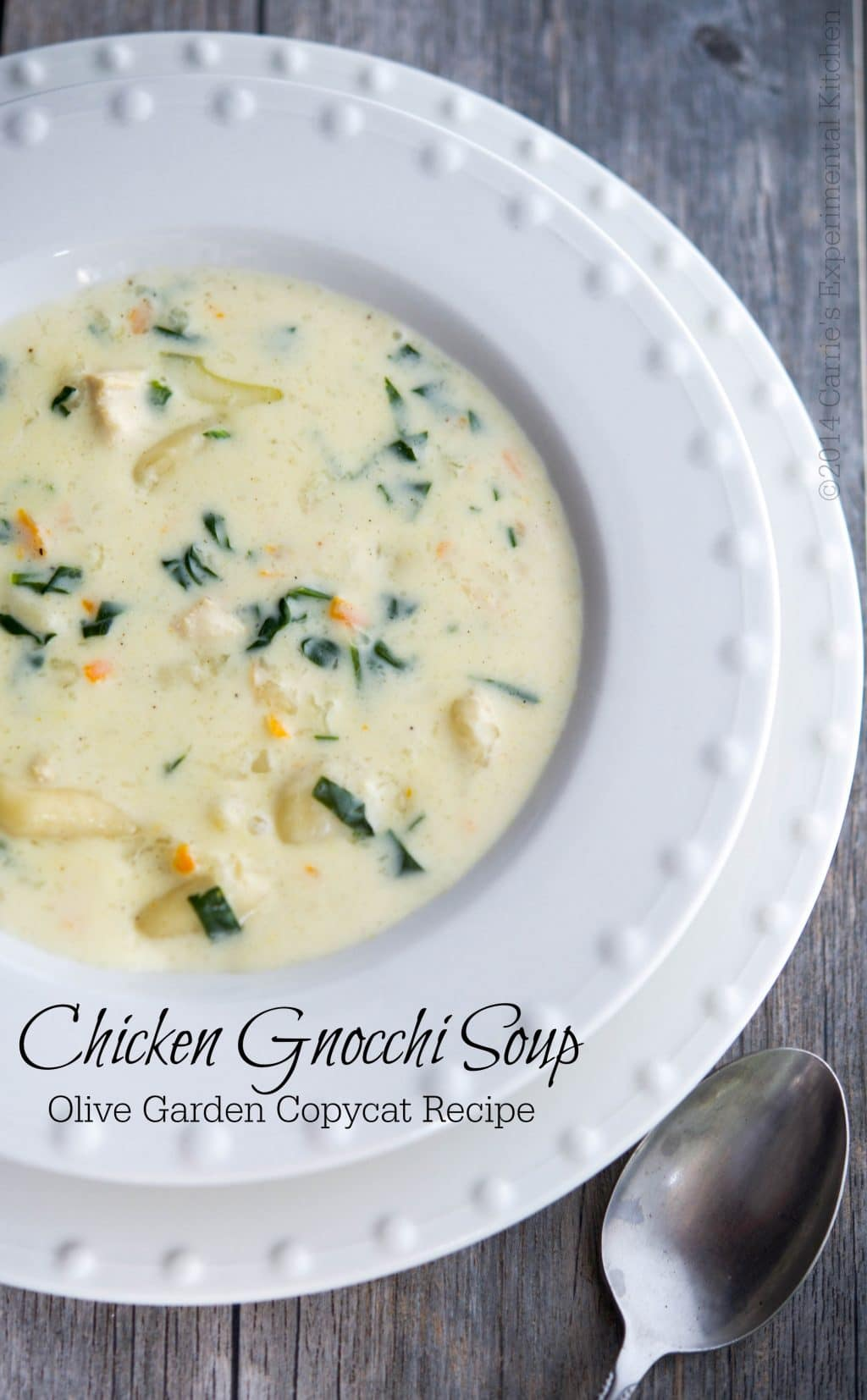 chicken gnocchi soup olive garden copycat carries experimental kitchen soup copycat - Olive Garden Gnocchi Soup