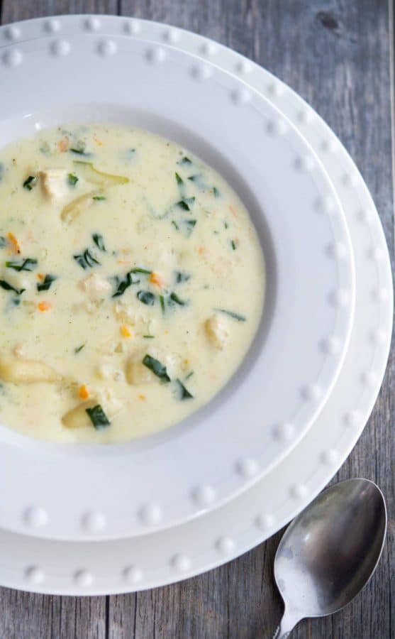 Olive Garden S Chicken And Gnocchi Soup Recipe