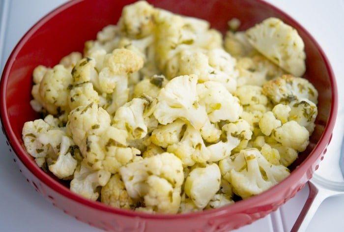 Gremolata Roasted Cauliflower