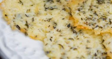 Asiago & Rosemary Cheese Crisps