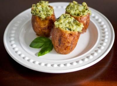 Basil Stuffed Red Potatoes.copycat recipe.Carrie.s.Experimental.Kitchen
