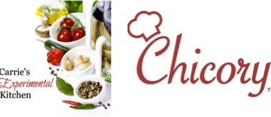 Carrie's Experimental Kitchen Partners with Chicory App