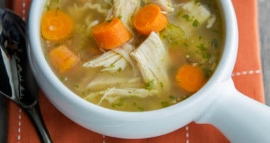 Cooking 101: How to Make Chicken Noodle Soup