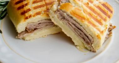 Roast Beef & Asiago Panini