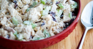Rosemary, Honey and Walnut Chicken Salad