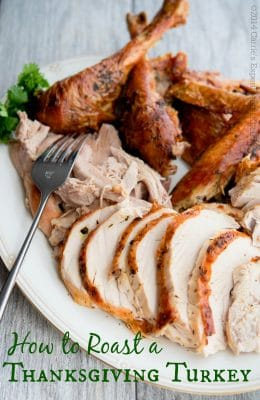 Butter & Herb Roasted Turkey | Carrie's Experimental Kitchen #turkey #thanksgiving