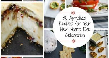 30 Appetizer Recipes for Your New Year's Eve Celebration